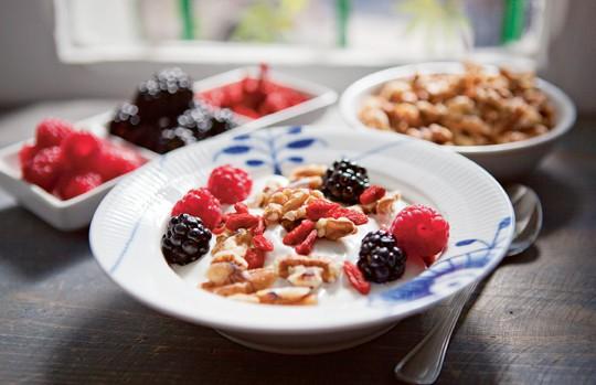 Hälsa frukost