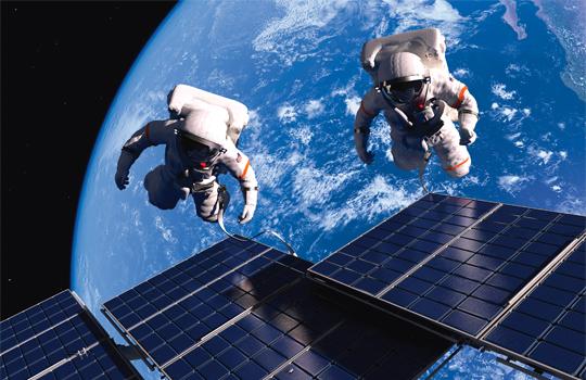astronautträning