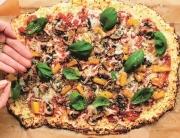 Glutenfri blomkålspizza